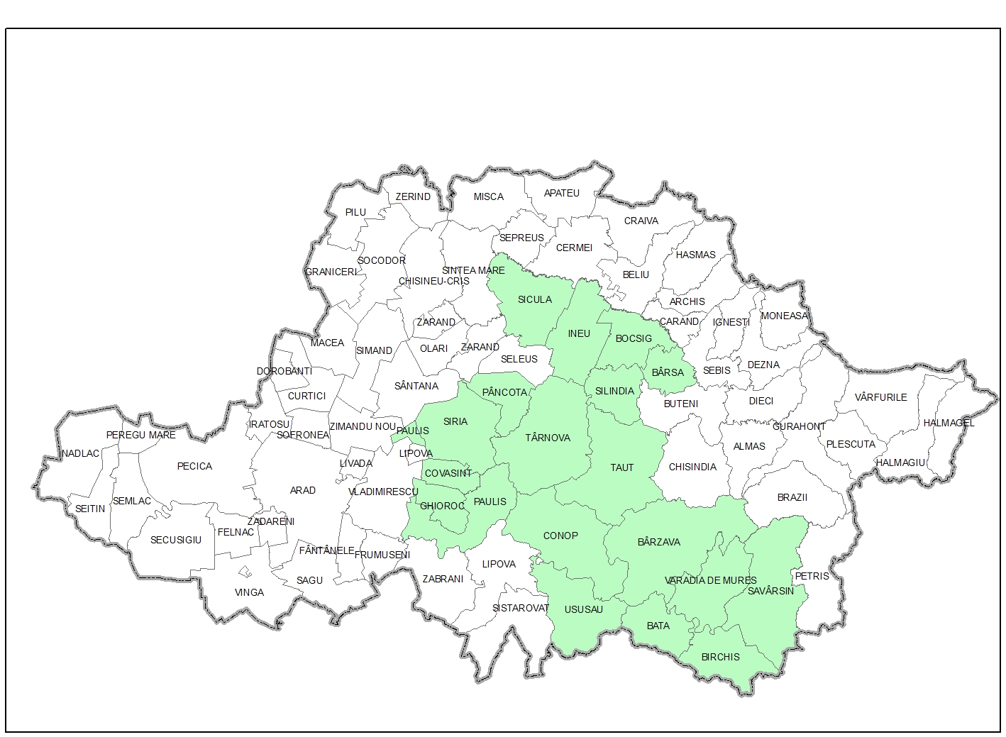 harta gal 2014 2020